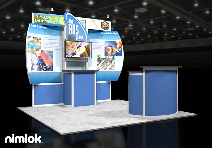 ADS Group - 10x10 - trade show exhibit