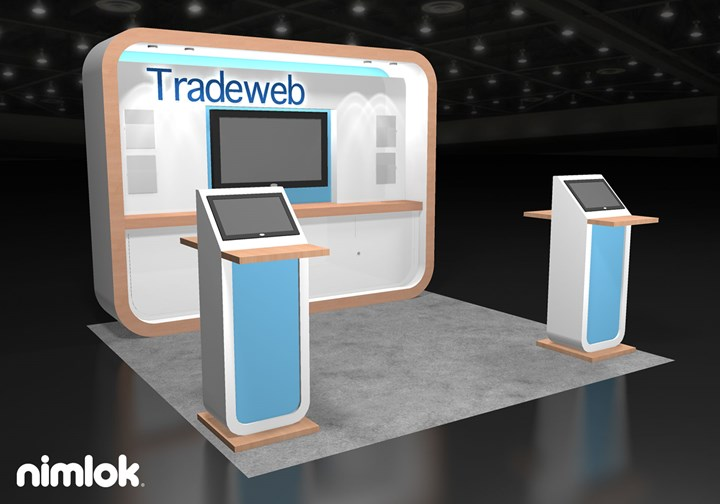 Tradeweb  - 10x10 - trade show exhibit