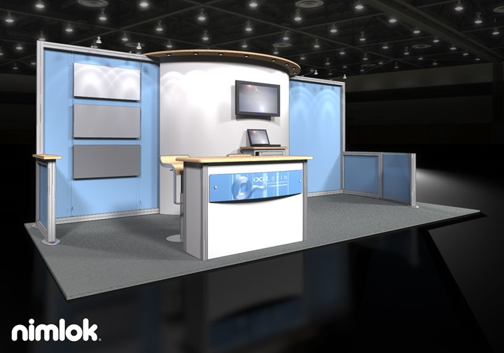 Lorin Industries  - 10x20 - trade show exhibit