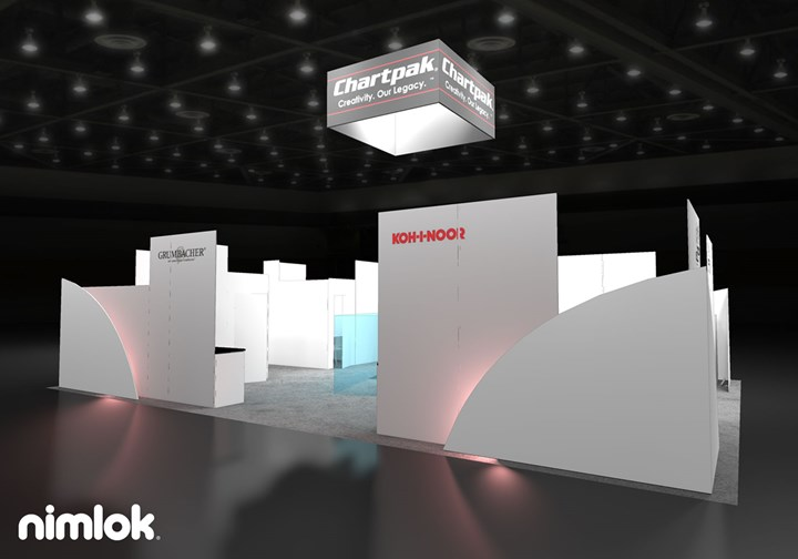 Chartpak  - 30x40 - trade show exhibit