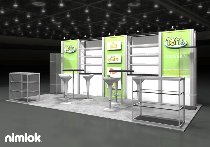 Fritos Totis  - 10x20 - trade show exhibit