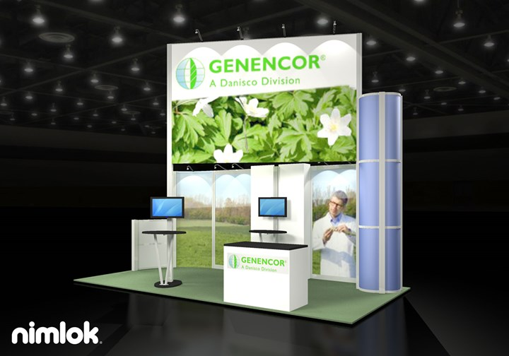 Genencor - 10x20 - trade show exhibit