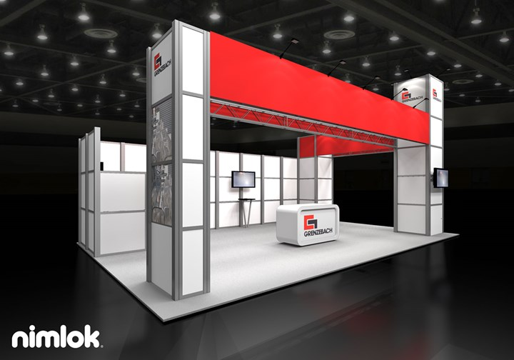 Grenzebach - 20x30 - trade show exhibit