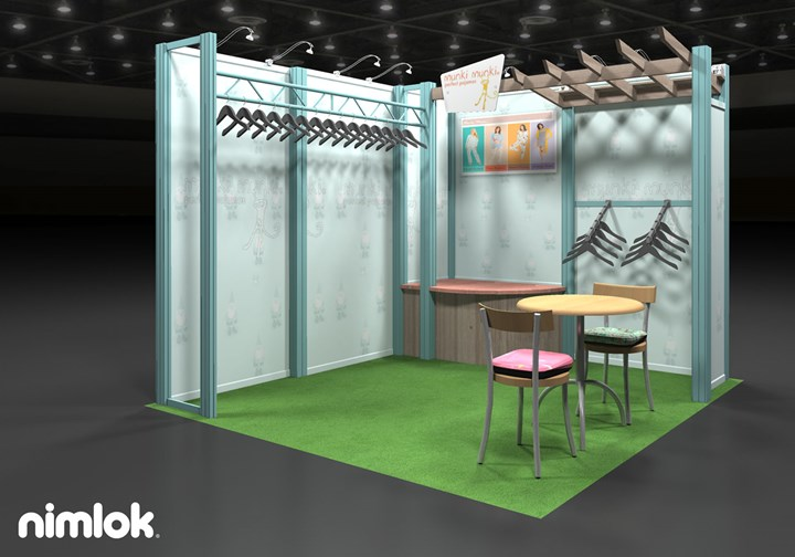 Munki Munki  - 10x10 - trade show exhibit