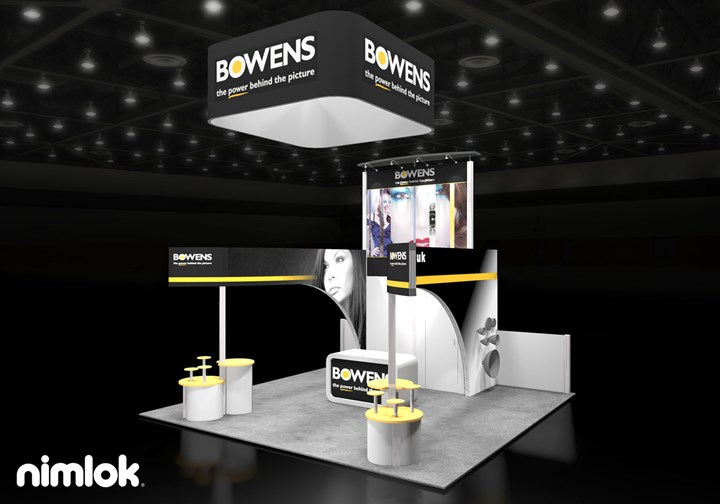 Bowens - 20x20 - trade show exhibit