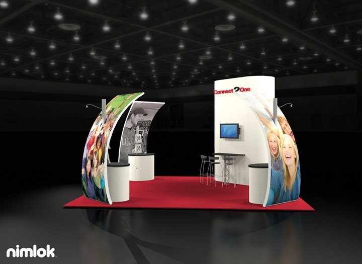 Connect2One  - 20x20 - trade show exhibit