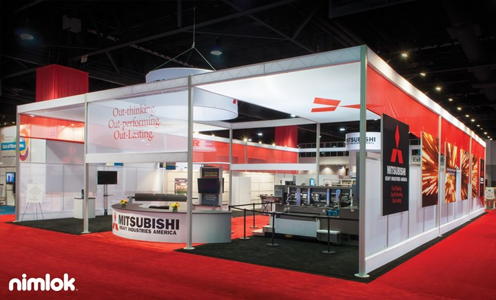 Mitsubishi - 51x81 - trade show exhibit