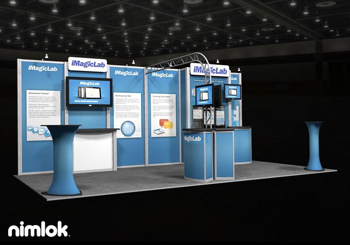 iMagicLab  - 10x20 - trade show exhibit