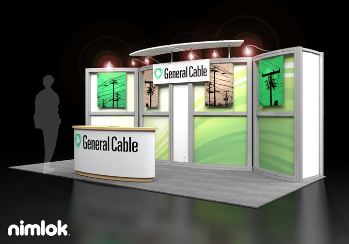 General Cable - 10x20 - trade show exhibit