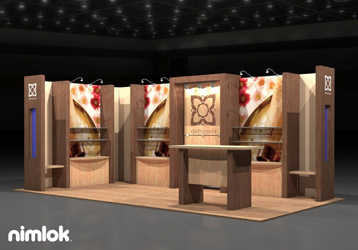 Akhassa  - 10x20 - trade show exhibit