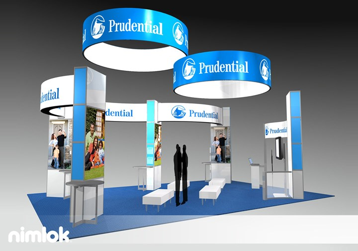 Prudential - 20x30 - trade show exhibit