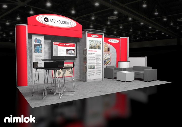 AFC - Holcroft - 10x20 - trade show exhibit