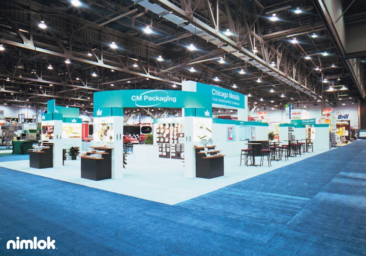 Chicago Metallic  - Larger - trade show exhibit