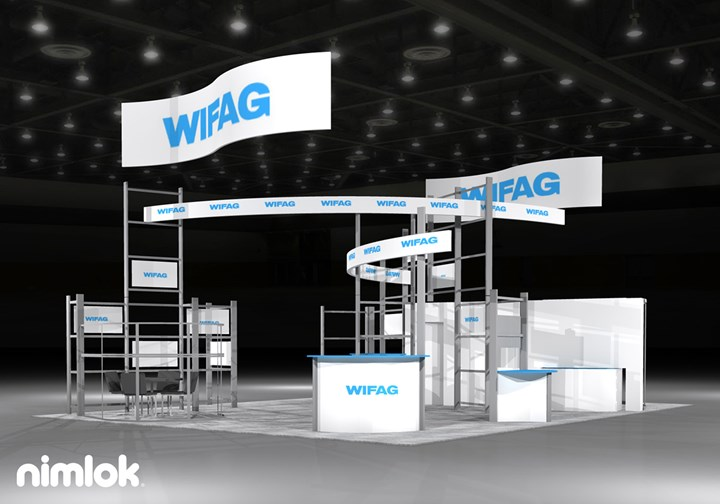 WIFAG  - 30x40 - trade show exhibit