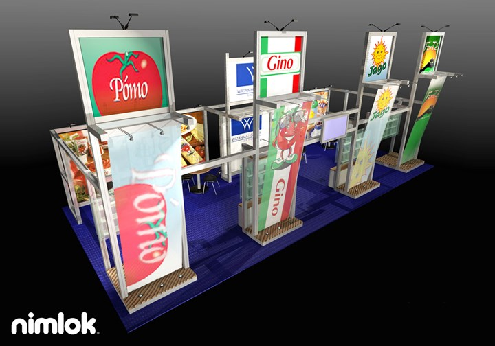 Watanmal  - 20x30 - trade show exhibit