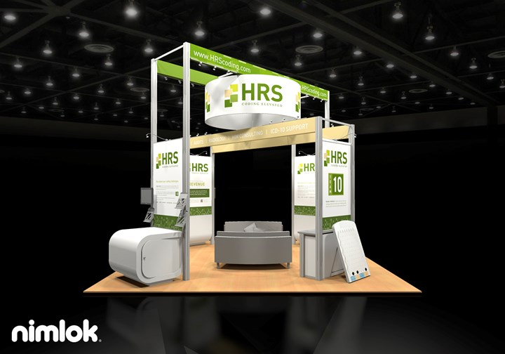 HRS Coding - 20x20 - trade show exhibit