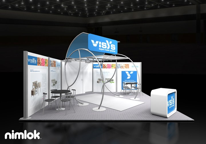 Visysglobal - 20x20 - trade show exhibit