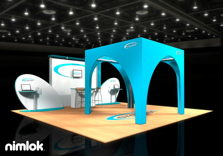 Ergolet  - 20x20 - trade show exhibit