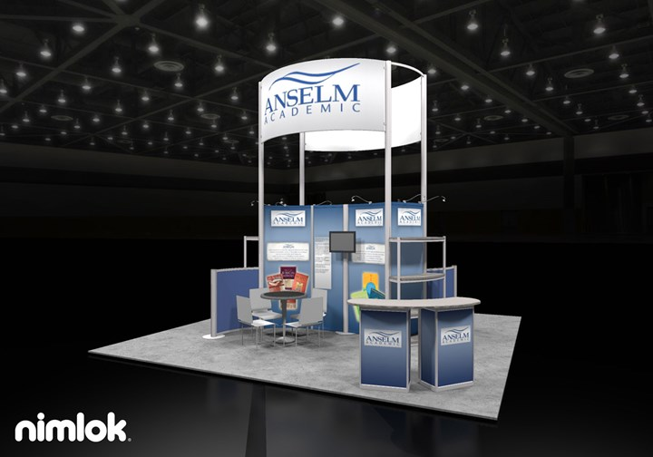 Anselm Academic - 20x20 - trade show exhibit