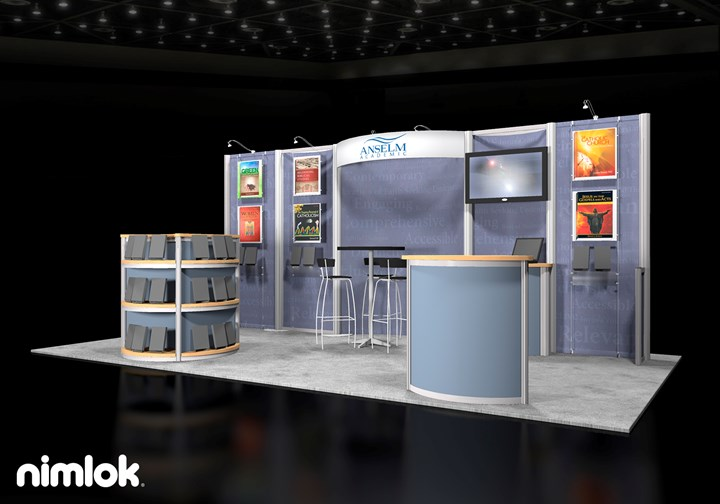 Anselm Academic  - 10x20 - trade show exhibit