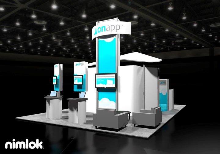 Onapp.com  - 20x30 - trade show exhibit