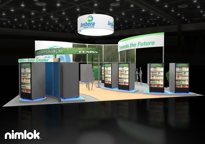 Imbera - 40x40 - trade show exhibit
