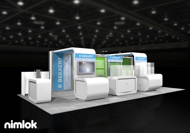 Bekaert - 15x30 - trade show exhibit