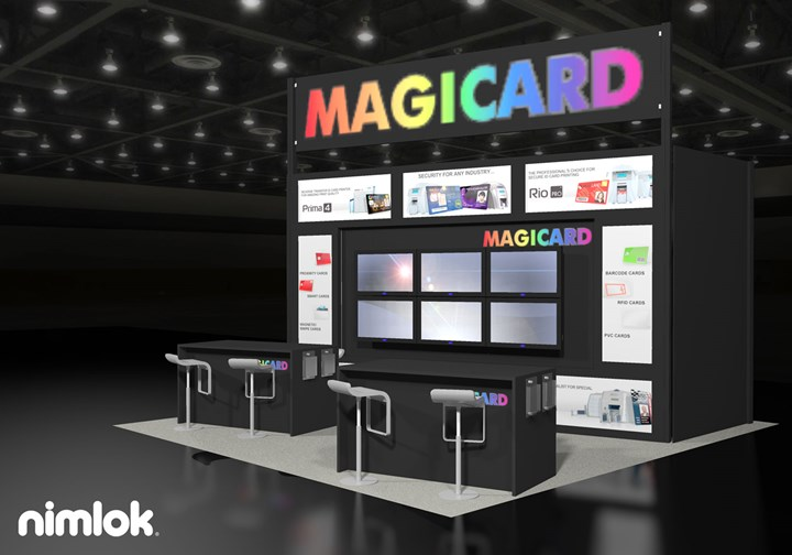 Magicard  - 20x20 - trade show exhibit