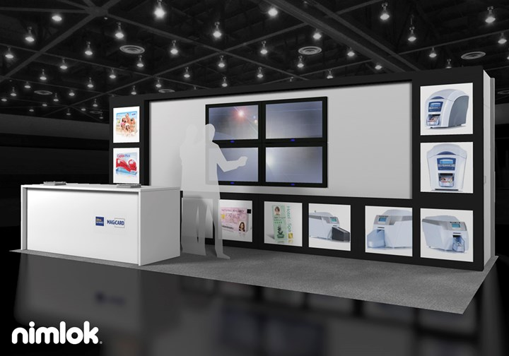 Magicard - 10x20 - trade show exhibit
