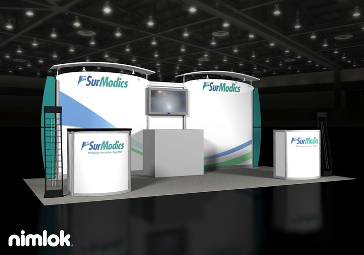 SurModics - 10x20 - trade show exhibit