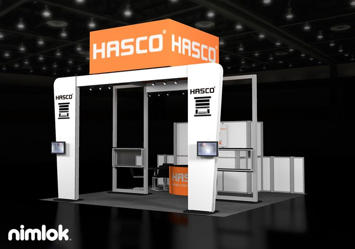 Hasco - 20x20 - trade show exhibit