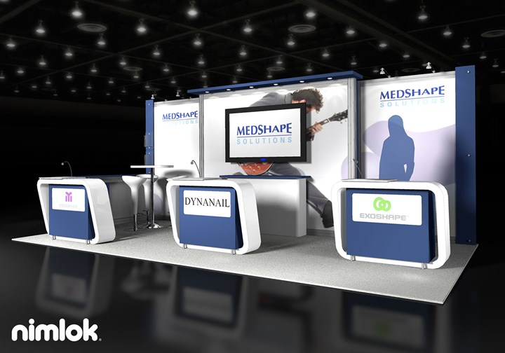 Medshape - 10x20 - trade show exhibit