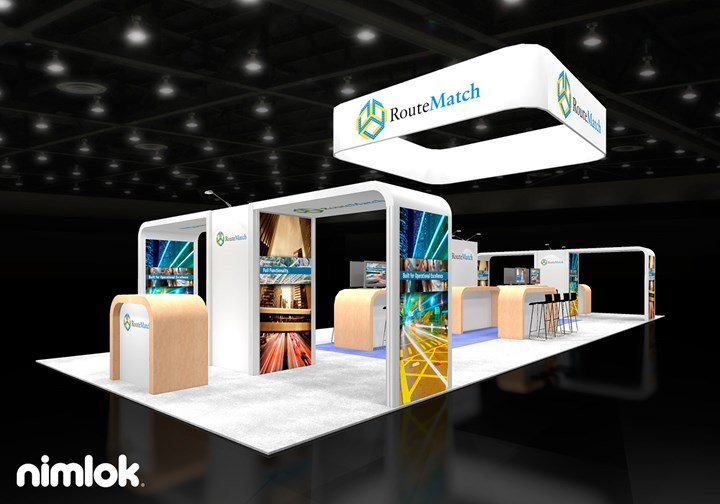 Routematch Software - 20x60 - trade show exhibit