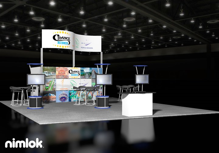 Chance Rides  - 30x40 - trade show exhibit