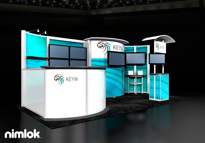 KEYW Corporation  - 10x20 - trade show exhibit