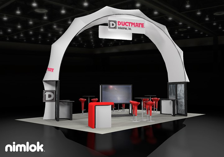 Ductmate  - 20x30 - trade show exhibit