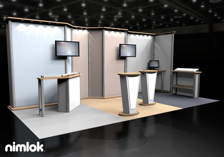 Oneline POS - 10x20 - trade show exhibit