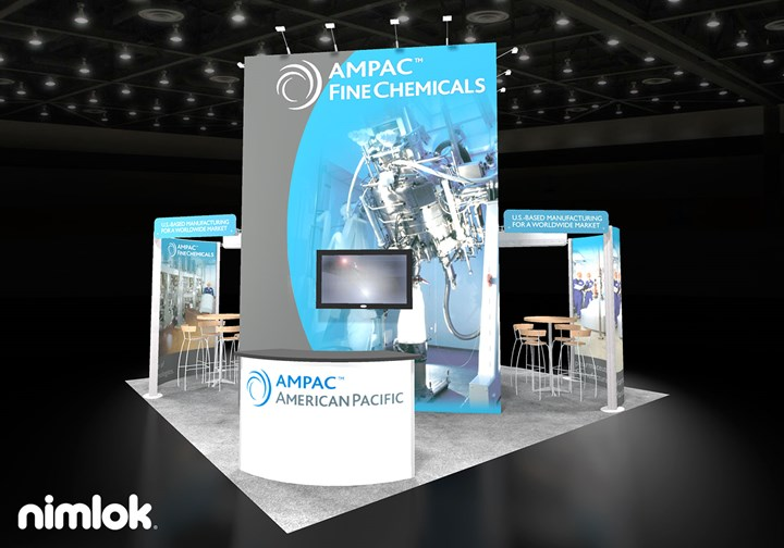 Ampac  - 20x20 - trade show exhibit