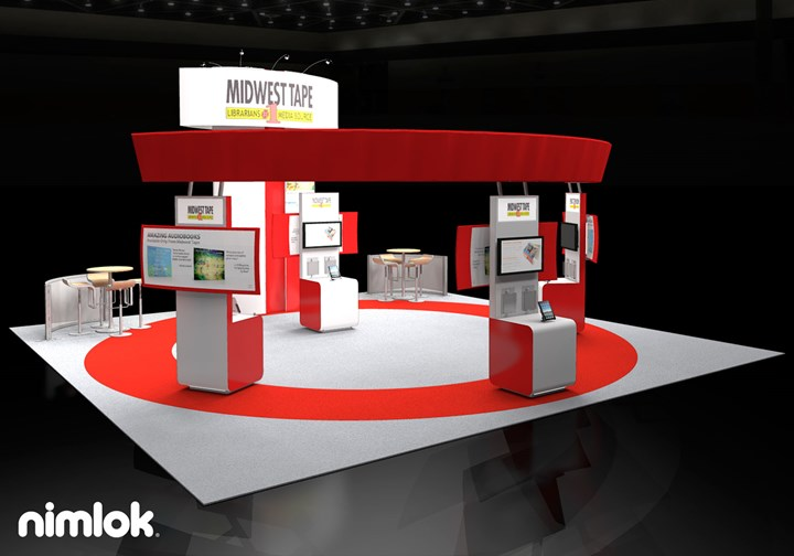 Midwest Tape  - 30x30 - trade show exhibit
