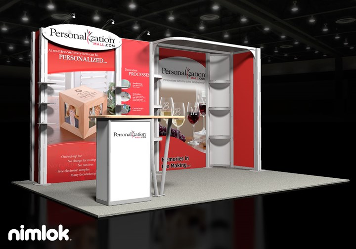 Personalizationmall.com - 10x15 - trade show exhibit