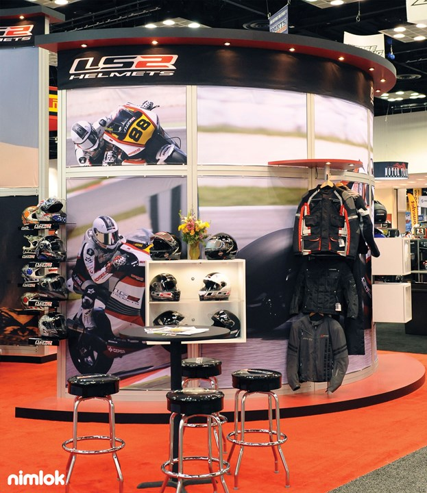 Allwin Powersports/LS2  - 30x40 - trade show exhibit