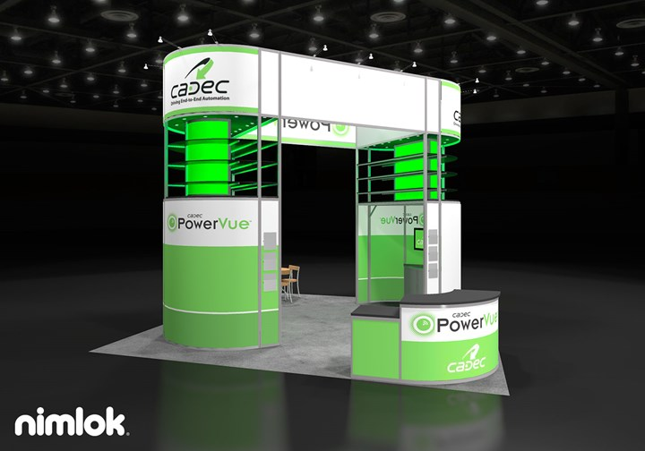 PowerVue - 20x20 - trade show exhibit