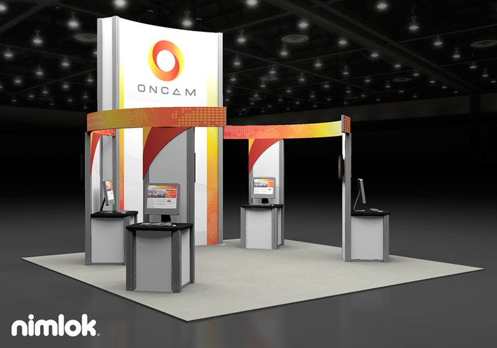 Oncam Global  - 20x20 - trade show exhibit
