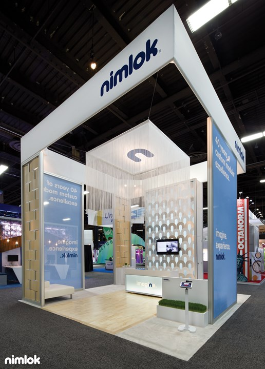 Nimlok - 20x20 - trade show exhibit