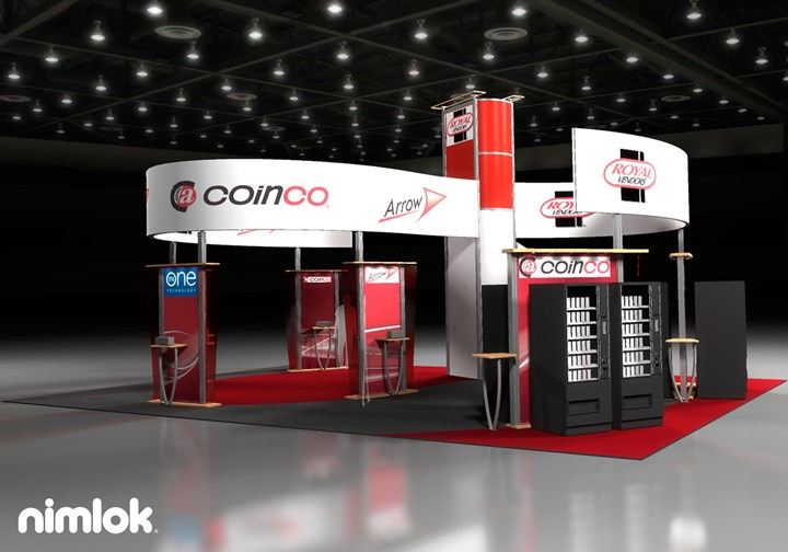 Coin Co. - 30x40 - trade show exhibit