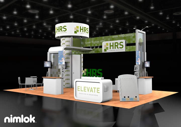 HRS Coding  - 20x30 - trade show exhibit