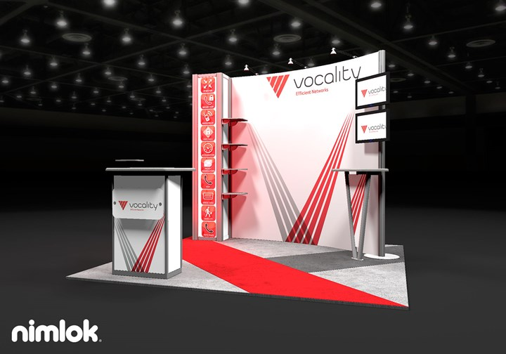 Vocality  - 10x10 - trade show exhibit