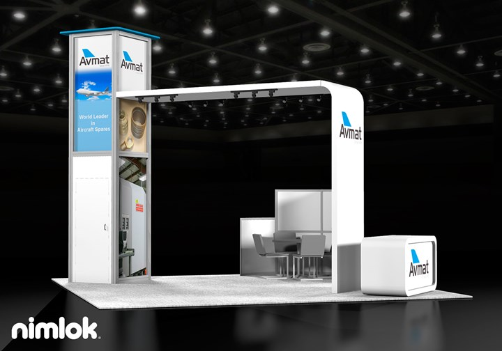 Avmat  - 20x20 - trade show exhibit