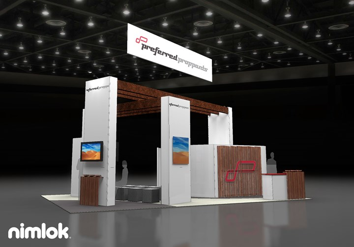 Preferred sands  - 20x30 - trade show exhibit