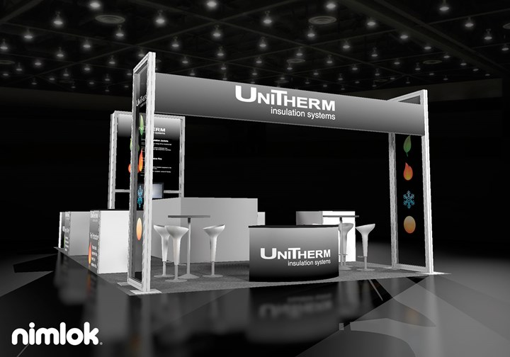 UniTherm Insulation Systems - 20x40 - trade show exhibit